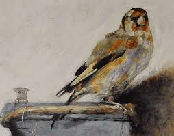 Goldfinch Painting by Carel Fabritius